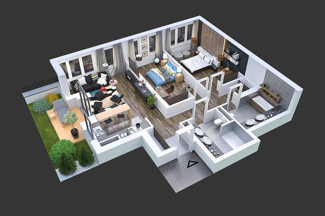 Wizualizacja architektoniczna / MRRE.PL /