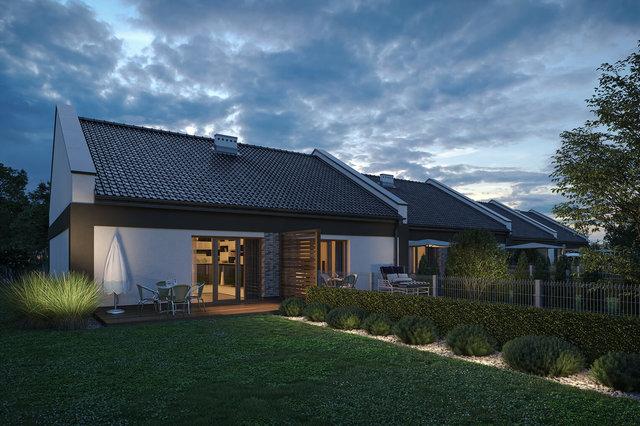Wizualizacja domu - garden visualization