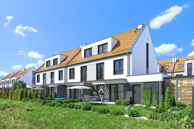 Wizualizacja architektoniczna osiedla / Mohi.to /