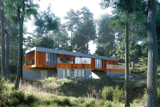 Wizualizacja architektoniczna / Karma Project /