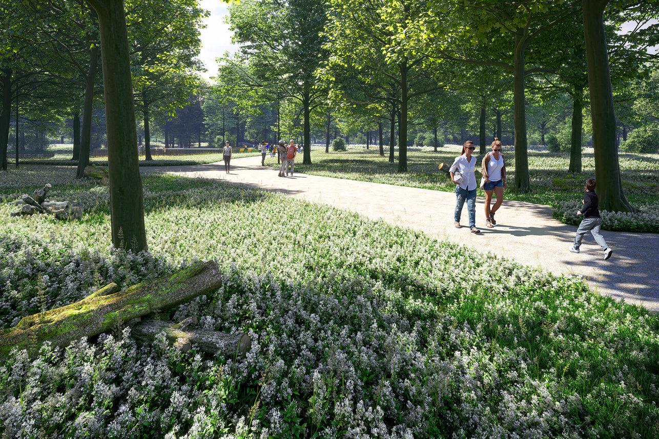 Wizualizacje architektoniczne - Park Zielona