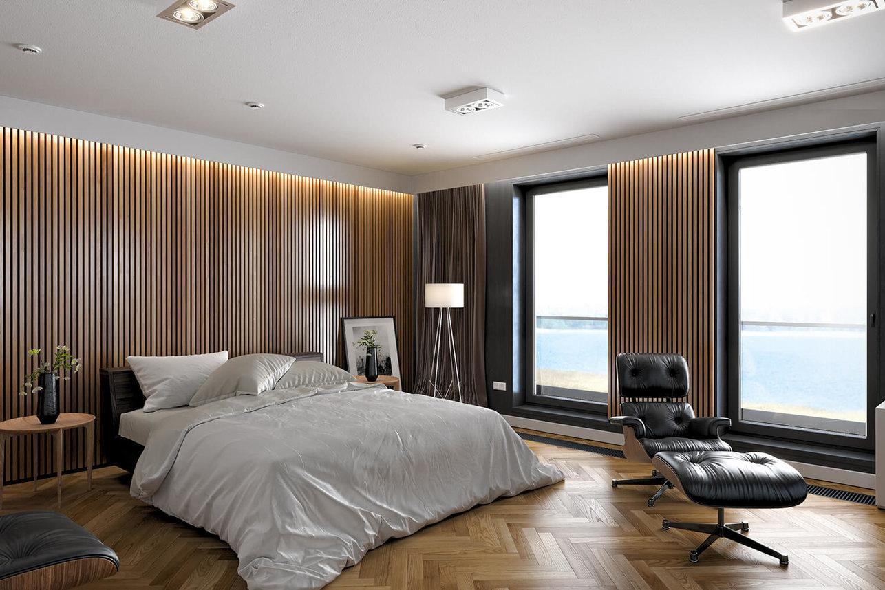 Wizualizacja wnętrz - wizualizacja sypialni