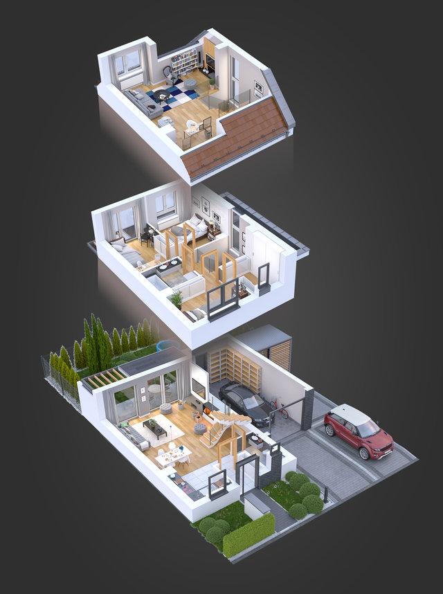 Wizualizacje architektoniczne / Mohi.to /
