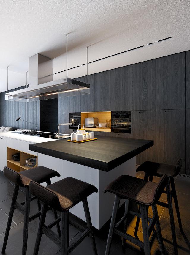 DIAMENT APARTMENT - Kitchen visualization