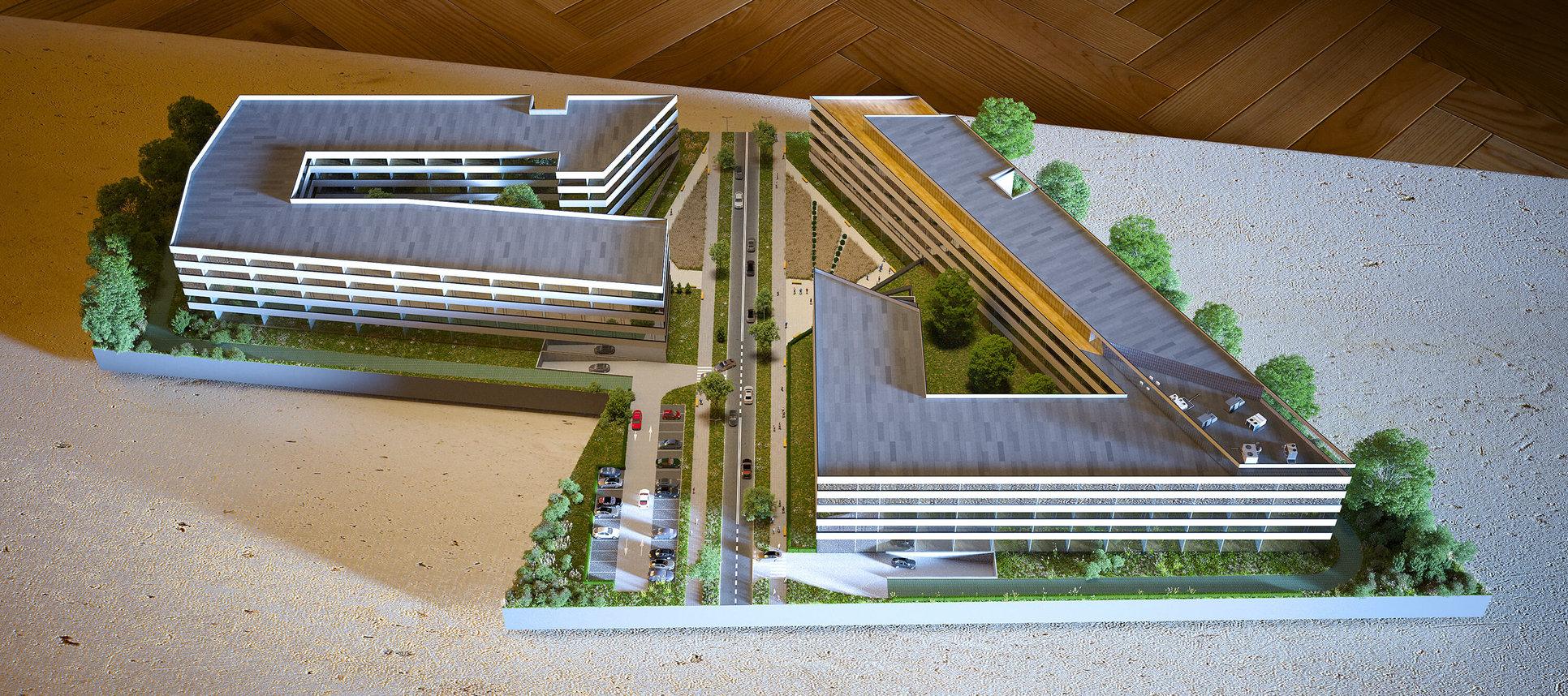 Wizualizacje architektoniczne - Makieta 3D