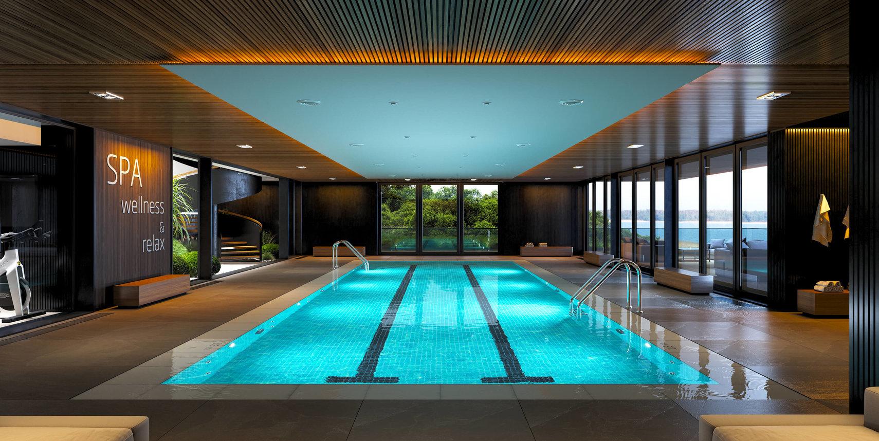 Wizualizacja 3d - wizualizacja basenu
